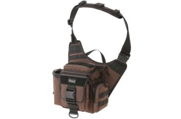 Maxpedition Jumbo Versipack Sling Pack - Dark Brown 0412BR