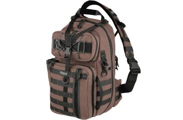 Maxpedition Kodiak Gearslinger Backpack,Dark Brown 0432BR