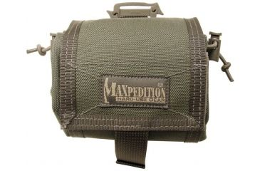 Maxpedition Mega RollyPoly Folding Dump Pouch - Foliage Green 0209F