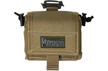 Maxpedition Mega RollyPoly Folding Dump Pouch - Khaki 0209K