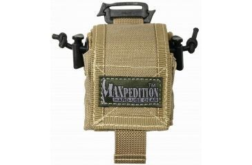 Maxpedition Mini RollyPoly Small Folding Utility Pouch - Khaki 0207K