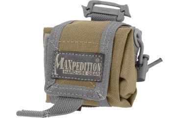 Maxpedition Mini Rollypoly Small Folding Utility Pouch, Khaki-Foliage 0207KF
