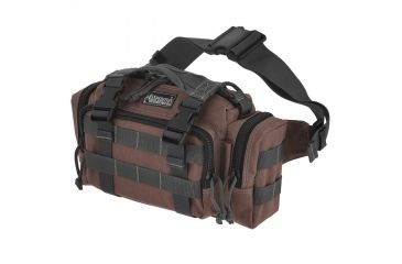 Maxpedition Proteus Versipack Bag w/ Fannypack Strap - Dark Brown 0402BR
