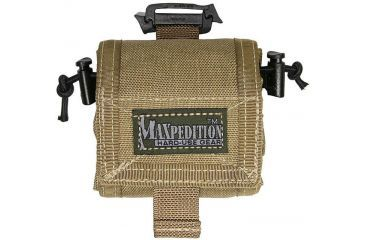 Maxpedition RollyPoly Folding Dump Pouch - Khaki 0208K