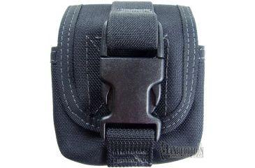 Maxpedition Single Frag Grenade Pouch - Black 1435B