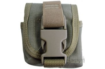Maxpedition Single Frag Grenade Pouch - Khaki 1435K