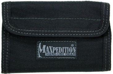 Maxpedition Spartan Nylon Wallet - Black 0229B