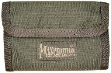 Maxpedition Spartan Nylon Wallet - Foliage Green 0229F