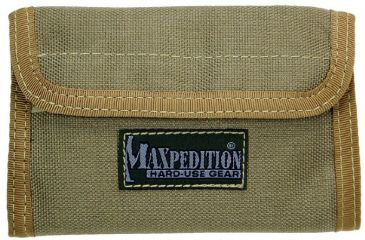 Maxpedition Spartan Nylon Wallet - Khaki 0229K
