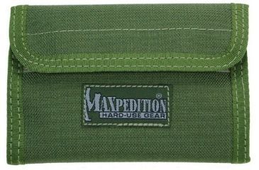Maxpedition Spartan Nylon Wallet - OD Green 0229G