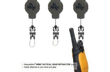 Maxpedition Tactical Gear Retractor Strap, Khaki, Medium RM2K