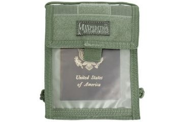 Maxpedition Traveler Deluxe Foliage Green 0803f