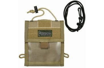 Maxpedition Traveler Deluxe Passport Holder And Organizer Khaki 0803k