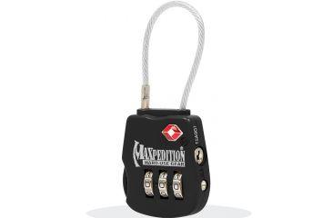 Maxpedition Tsalocb Tactical Black Luggage Lock