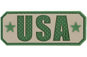 Maxpedition USA 2.5 in. x 1 in. Patch, Arid USATA