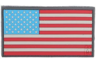 Maxpedition USA 3.25 in. x 1.75 in. Large Flag Patch, LE Thin Blue Line USA2L