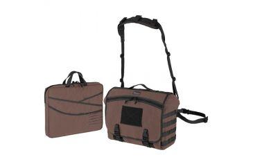 Maxpedition Vesper Tactical Laptop Messenger Bag,Dark Brown 0623BR