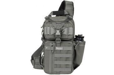 Maxpedition Sitka Left-Side Gearslinger Back Pack, Foliage Green 0467F