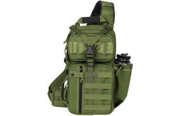 Maxpedition Sitka S-type Gearslinger Backpack, OD Green 0467G