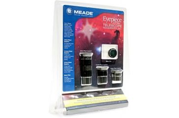 Meade Telescope Accessory Kit 07979LF Eyepieces & Moon Filter 4-PC w/ Free S&H