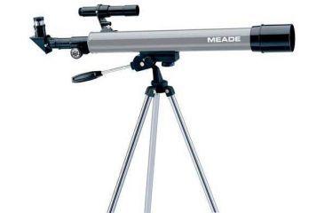 Meade 50AZ-P Altazimuth Refractor A-Series Entry Level Telescope, 04050