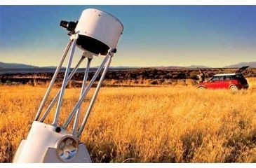 Ultra Portable Meade LightBridge Truss Tube Telescope