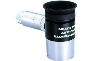 Meade MA 12mm Illuminated Reticle Astrometric Eyepiece, 125in, wireless 7069