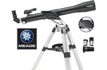 Meade Telestar NGC-60TC Telescope 70% OFF w/ Computer Telescope & Spotting Scope 70207