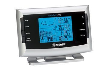 Meade Personal Weather Station Portable Barometric Weather Forecaster TE653ELW-M