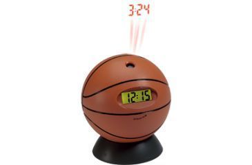 Meade Clock - Basketball w/ Wall Projector