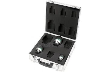 Meade Series 5000 Super Wide Angle Eyepiece Set - 3 Meade Series Super Wide Angle Eyepieces & Aluminum Cary Case - 07675