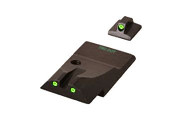 Meprolight Night Sights, Green Front and Rear for Ruger P345 ML10995