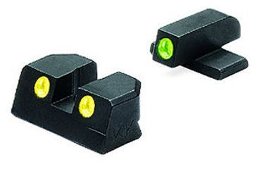Meprolight Night Sights for Sig 9mm & .357 Sig P series g/y ( #8 front & rear)