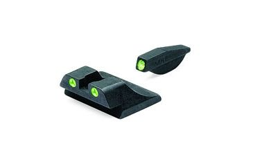 Meprolight Tru-Dot Night Sights, Green Front & Rear for Ruger SR9 & SR9C