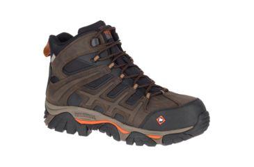 aa8266f2a43 Merrell Work Moab 2 Mid Peak Waterproof Shoe - Mens | Free Shipping ...