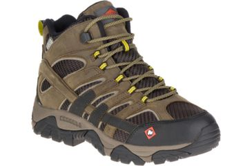833c7417 Merrell Work Moab 2 Vent Mid Waterproof Sr Shoe - Mens ...