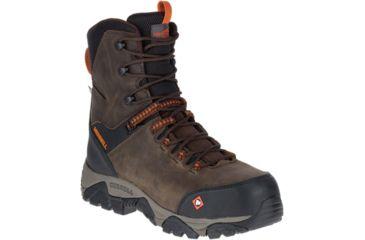 5a6303243d Merrell Work Phaserbound 8in Zip Waterproof Ct Shoe - Mens   Free ...