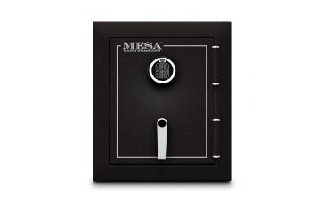 Mesa Safes Imperial Burglary & 2 Hour Fire Safe, Hammered Grey, 20x17.25x18.75in MBF1512E