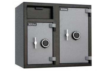 Mesa Safes MFL2731 Double Door Depository Safe Closed