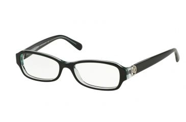 49cf37320e6 Michael Kors ANGUILLA MK8002 Progressive Prescription Eyeglasses 3001-52 -  Black Blue Frame
