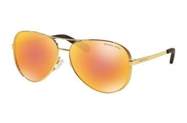 c82be7dea3e08 Michael Kors CHELSEA MK5004 Sunglasses 1024F6-59 - Gold Frame