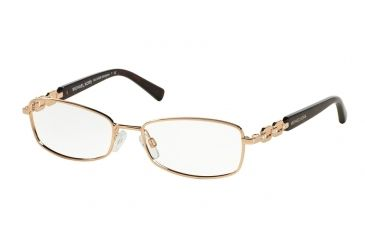 3ce441981cf1 Michael Kors MALDIVES MK3002B Eyeglass Frames 1026-52 - Rose Gold Frame