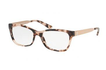 5cc07881f3 Michael Kors MARSEILLES MK4050 Eyeglass Frames 3162-53 - Pink Tortoise Frame