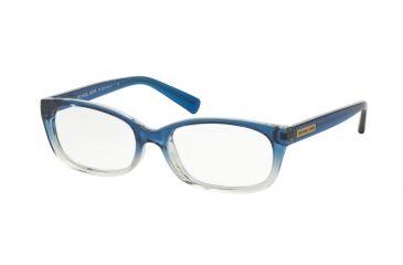 47751017a01 Michael Kors MITZI V MK8020 Eyeglass Frames 3122-51 - Blue Clear Gradient  Frame