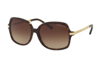 5c1c2f3d53 Michael Kors MK2024F Sunglasses 310613-57 - Dk Tortoise gold Frame