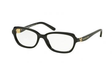 a2d1a427e09 Michael Kors MK4025F Eyeglass Frames 3005-51 - Black Frame