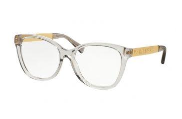 ad6346af52c Michael Kors MK8015F Eyeglass Frames 3091-54 - Grey Transparent gold Frame