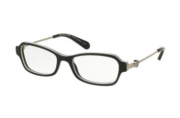 61cef735d7c Michael Kors MK8023F Eyeglass Frames 3129-52 - Black White Frame