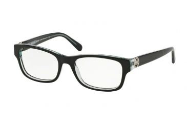 73d4df32fa4 Michael Kors RAVENNA MK8001 Eyeglass Frames 3001-53 - Black Blue Frame