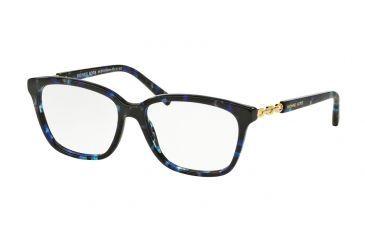 c809fcdfe79 Michael Kors SABINA IV MK8018 Eyeglass Frames 3109-54 - Blue Tortoise gold  Frame